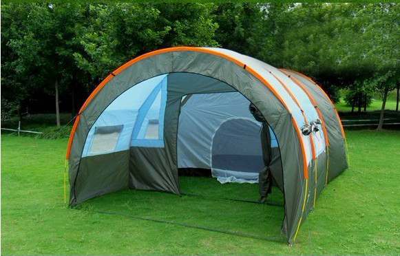 2015 c&ing advertising Pop Up tent with free shipping trade show promotion two bedrooms u0026 one & 2015 camping advertising Pop Up tent with free shipping trade show ...