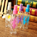 1Pc 100ML Perfume Bottle Refillable Shampoo Lotion Liquid Toner Emulsion Cosmetic Plastic Pressure Mouth Point Spray Pump Bottle