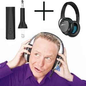 Image 5 - Bluetooth 5.0 Stereo Senza Fili Vivavoce Audio Adapter Per Bose Tranquillo Comfort 25 35 QC25 QC35 OE2 OE2i AE2 AE2i AE2w cuffie