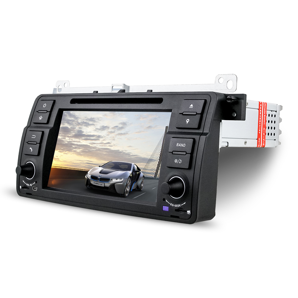 Universal In Dash 7 Inch Touch Screen DJ7062 Single Din