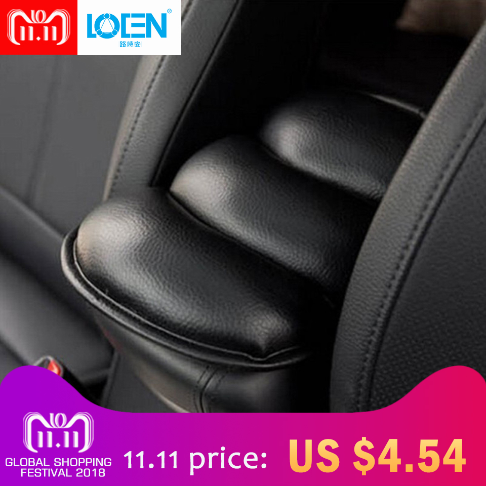 Hot Sale Car Auto Armrests Cover Vehicle Center Console Arm Rest Seat Box Pad Protective Case Soft PU Mat Cushion Universal Use universal leather car auto console box protective mat pad armrest cover auto seat armrests box mat vehicle protective soft mats