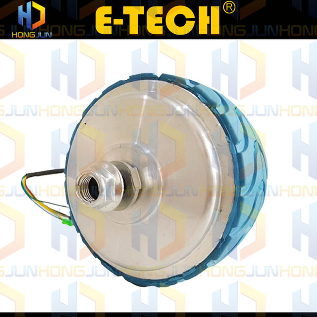 ETECH 4 inch low speed geared hub motor 6-8km/h with high torque