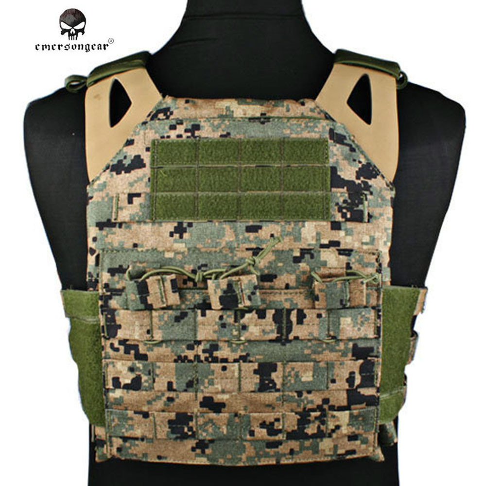 Emerson 1000D Airsoft JPC Tactical Molle Vest Simplified Version Military Combat Hunting Wargame Protective Gear Vest emerson 1000d molle jpc airsoft tactical vest simplified version outdoor training paintball hunting vest plate carrier em7344