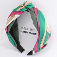 1 PC Frete Grátis Nó Hairband Stirnband para Mulheres Elastische Turban Stirnband Cabeça Esporte Envoltório Headwear Acessórios Para