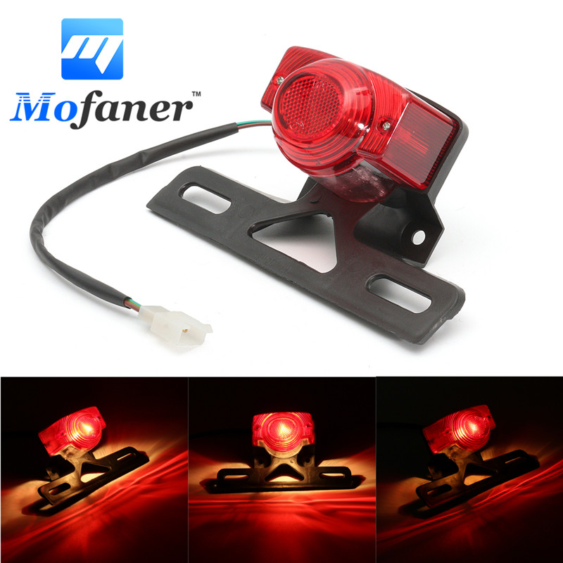 1PC Motor Tail Light Taillight Rear Lamp For Honda MONKEY Z50 Z50JZ Z 50 KDF Bike