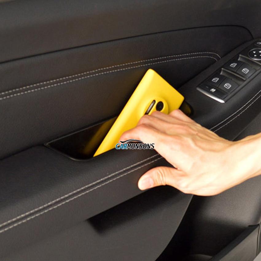 Mersedes Benz ML GL GLE Class X166 W166 Qapı Qapı üçün Anbar - Avtomobil daxili aksesuarları - Fotoqrafiya 5