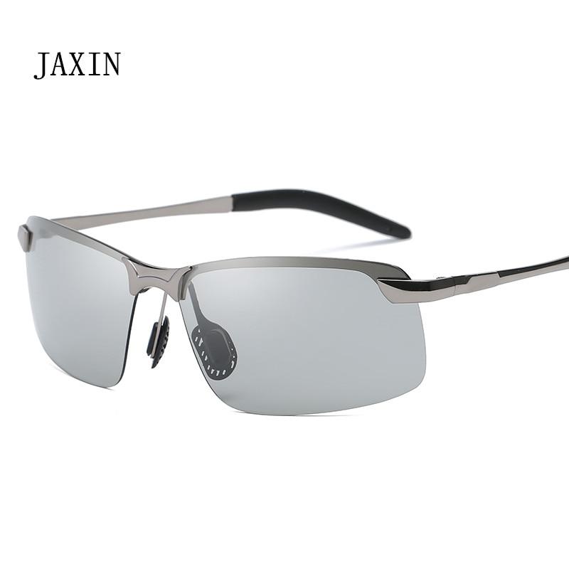 JAXIN 2019Fashion Polarized Sunglasses Men Classic Wild Color Sun Glasses Mr Trend Fashion Outdoor Driving Goggles UV400 okulary in Men 39 s Sunglasses from Apparel Accessories