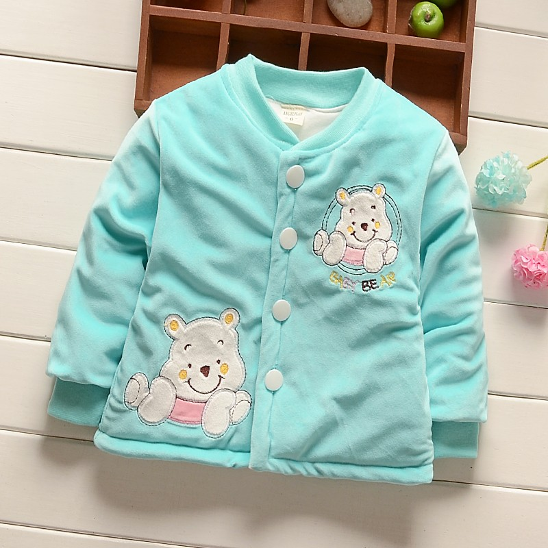 BibiCola Toddler baby girls boys jackts autumn and winter Newborn coat Girls snowsuit Down Parkas cotton coat winter outerwear
