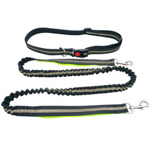 3 Colors 200cm Running Leash For Dogs Reflective Dog Leads Multi-function Big Samoyed No Hand Leashes Petshop Supplier