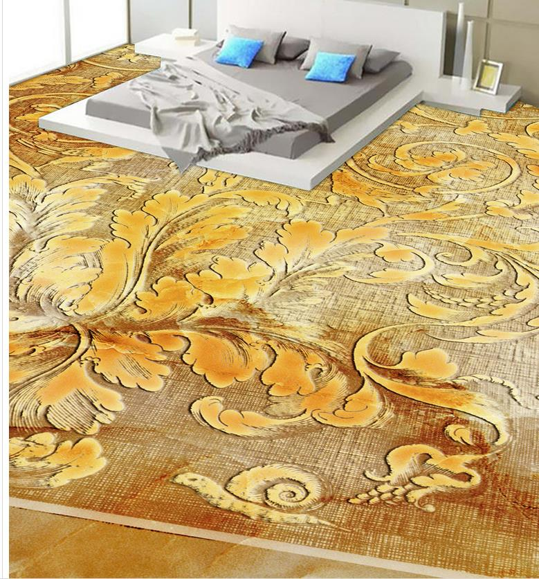 Photo floor wallpaper 3d stereoscopic self adhesive for 3d self adhesive wallpaper