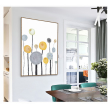 Nordic Modern Minimalistic Dandelion Wall Art Canvas Posters Prints Decorative Picture Home Bedroom Decoration