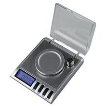 Balança eletrônica de laboratório 50g 0.001, alta precisão balança digital de bolso portátil mini máquina de pesagem de joias