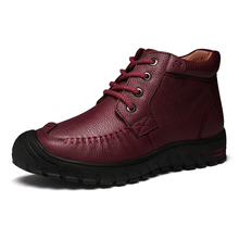 2016 Nuevas Mujeres de Invierno Botas de Felpa Caliente Zapatos de La Señora Del Cordón encima de La Muchacha Negro Color Botines de Moda Mujer Zapatillas Mujer zapatos