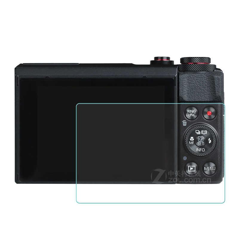 С уровнем твердости 9 H закаленное Стекло Экран Защитная пленка для Canon G9X G7X G7XII G5X G7XIII G9XII G1X Mark III M6 M100 M50 защитная пленка