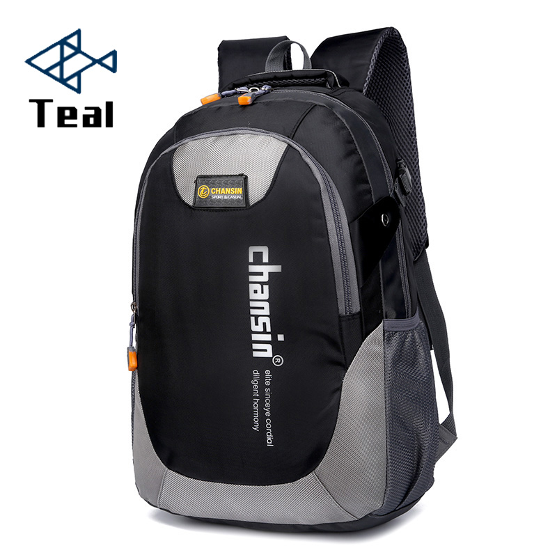 Male Backpacks Chain School-Bag Oxford Teenagers Casual Waterproof Men Nylon Hot-Sell