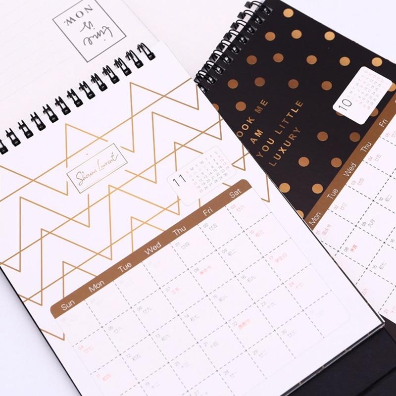 Calendar 2019 Nordic Style Planner Time Agenda Desktop Calendar For