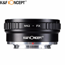 K&F CONCEPT Lens Mount Adapter For M42 (Zeiss,Pentax,Praktica,Mamiya,Zenit) Screw Mount Lenses To Fujifilm Microless Cameras