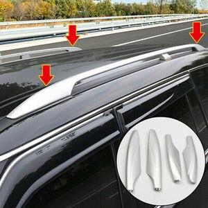 4 * Серебряная крыша стойки бар конец крышки оболочки заменить для Nissan Patrol Y62 2010-2018
