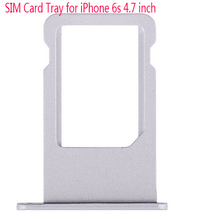 10pcs Original New Nano Sim Card Tray Slot Holder Replacement Parts For iPhone 6S 4 7