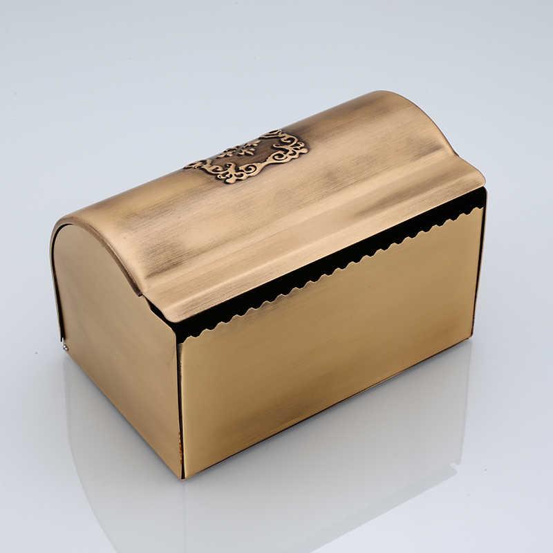 Водонепроницаемый держатель для салфеток в ванной, античный держатель для туалетной бумаги в рулоне, европейский стиль, кухонная белая бумажная полка