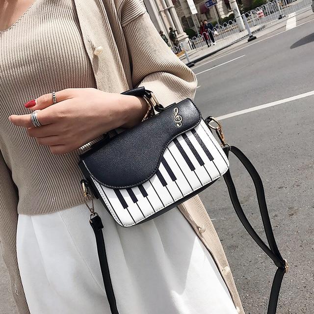 Piano New Fashion Women Shoulder Bag 2