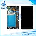 Negro blanco piezas para lg optimus g ls970 e975 e973 e977 pantalla lcd con pantalla táctil digitalizador con marco 1 unidades envío gratis