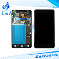 Preto branco peças de reposição para lg optimus g ls970 e975 e973 e977 tela lcd com digitador touch com frame 1 peça livre grátis
