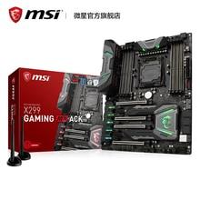 X299 игровой M7 ACK нового поколения 2066 pin X299 материнской плате компьютера