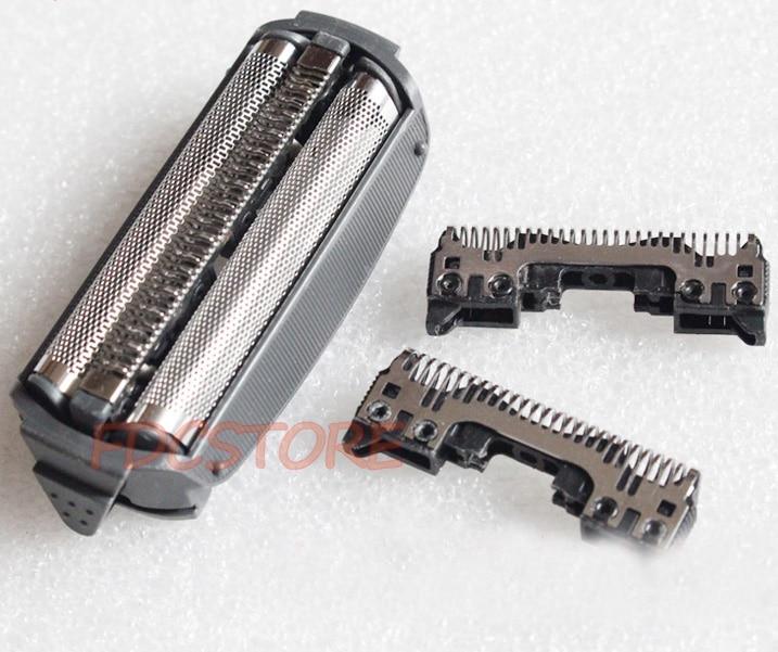 2X Cutter 1X Foil For For Panasonic ES6003 ES6003W ES6003K ES6013 ES6015 ES6016 ES7035 ES703 ES7037