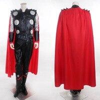 Marvel De Avengers Thor Leeftijd van Ultron Cosplay Kostuum Aangepaste Thor Kostuum Elke Grootte Halloween Aangepaste Kostuums