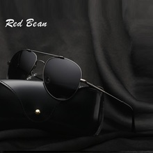 Width-147 new stainless steel sunglasses mens fashion trendsetter pilot Polarized UV400 male oculos masculine Mirror