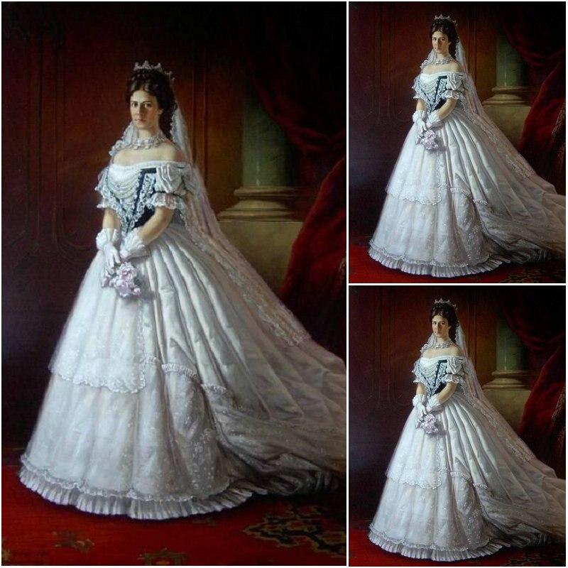 Freeship!Customer-made Luxs Vintage Victorian Dresses Cosplay 1860s Scarlett Civil War dress Halloween dresses US4-36 C-867