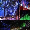 Multi-color 30/20 CM Meteoro Tubes Chuveiro de Chuva AC100-240V LED Luzes De Natal Festa de Casamento Garden Xmas Cordas luz Ao Ar Livre