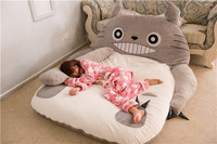 Fancytrader 2015 New Totoro Bed 230cm X 180cm Super Cute Giant Totoro Double Bed Carpet Sofa for 2 persons Free Shipping FT90192
