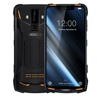 2019 new DOOGEE S90 6GB 128GB mobile Phone IP69K Waterproof shockproof 5050mAh 6.18''FHD MT6671 Octa core 16MP NFC 4G Smartphone