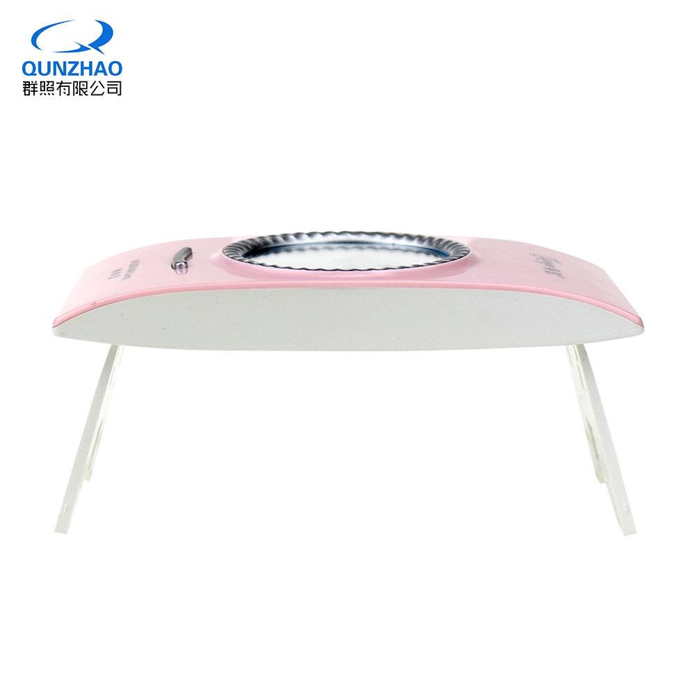 2018 Portable Mini LED UV Light Nail Dryer for Curing Gel Nail Lamp 16W Makeup Mirror Nails Polish Dryer Lamp Equipment