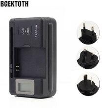 Ekran wskaźnika lcd uniwersalna ładowarka baterii do telefonów komórkowych i portu USB