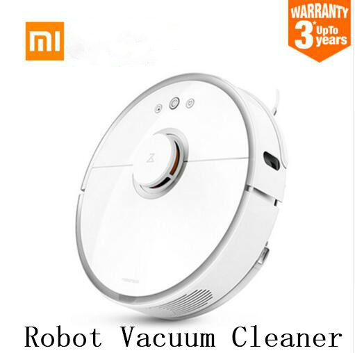Xiaomi roborock S50 S51 robot vacuum cleaner 2 Wet drag mop Smart Planned with water tank free tax to RU EU israel xiaomi robot vacuum cleaner mi roborock s50 robot 2nd generation wet drag mop smart planned with water tank free tax to israel
