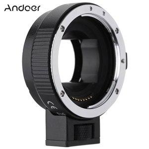 Image 1 - Andoer EF NEXII Auto Focus AF Objektiv Adapter Ring Anti Schütteln für Canon EF EF S Objektiv zu verwenden für Sony NEX E Mount Kamera Volle Rahmen