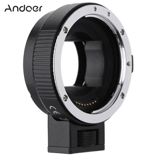 Andoer EF NEXII Auto Focus AF Objektiv Adapter Ring Anti Schütteln für Canon EF EF S Objektiv zu verwenden für Sony NEX E Mount Kamera Volle Rahmen