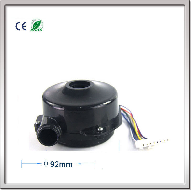 Free shipping High pressure Mini 24V DC 3-phase Brushless DC Centrifugal Blower / Hot and Cold Electric soplador Air Brushless  24v 160w brushless dc high pressure vacuum cleaner centrifugal air blower dc fan seeder blower fan dc blower motor air pump
