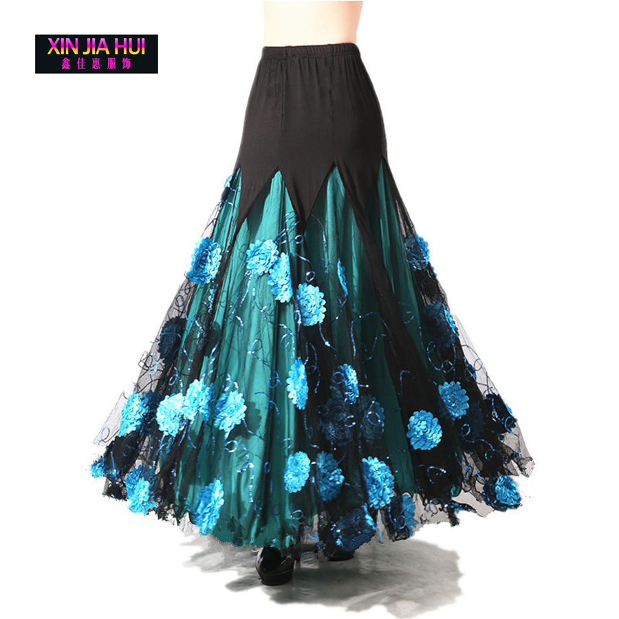 Luxurious Theatrical Bellydance Costume Ballroom Dancing Big Skirt Elegant Belly Dance Waltz Indian Gypsy Deadpool Poi Oriental