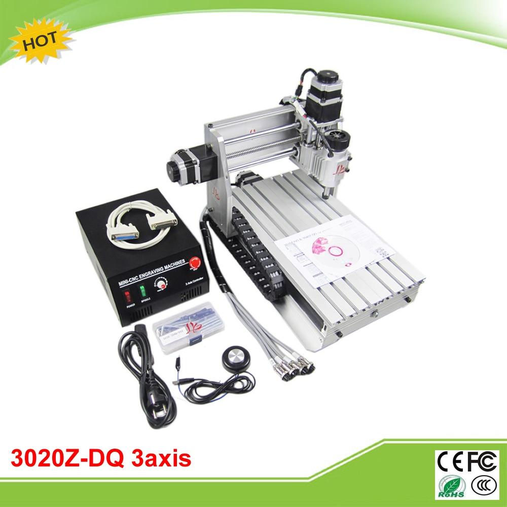 Mini CNC 3020Z-DQ 3axis CNC milling machine with ball screw free tax to RU cnc 3040z dq 3 axis mini cnc milling machine ball screw free tax to ru