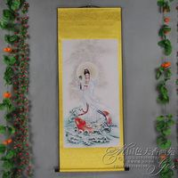 Exquisite Chinese Antique collection Imitation ancient Bodhisattva portraits No.6