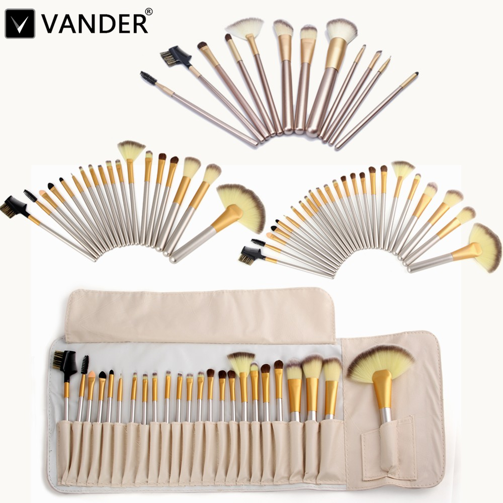 Vander Makeup Brushing Brush Set 12/18/24 pcs Soft Synthetic Professional Cosmetic Kits Foundation Powder Blush Eyeliner Brushes 12 18 24pcs make up brush set soft synthetic professional cosmetic makeup foundation powder blush eyeliner brushes kit