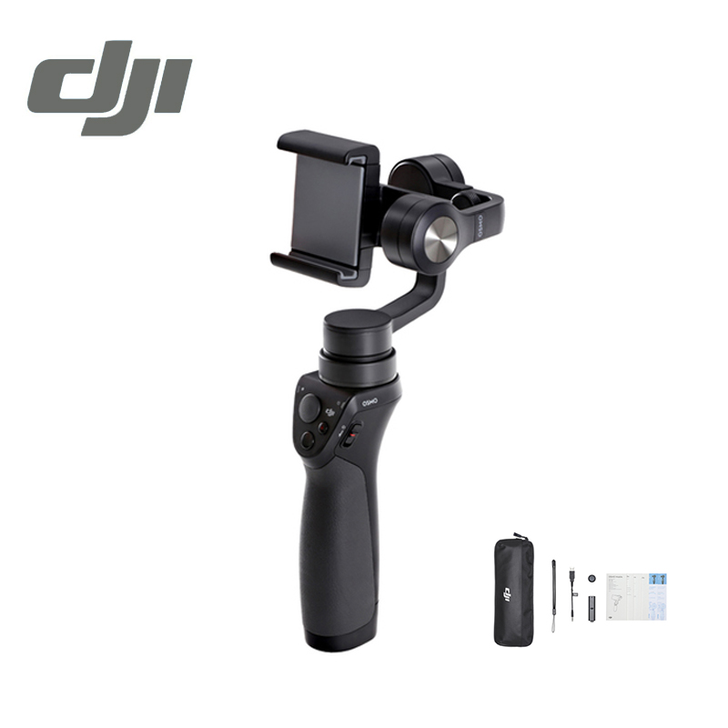DJI Osmo Mobile ( Black ) Selfie Sticks & Handheld Gimbal Handheld Gimbals Original Accessories