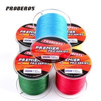 300M PE Multifilament Super Braided Fishing Line Available 8LB 100LB Spider Strong Nylon Wire Rope Cord