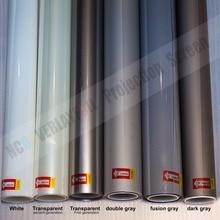 20x29 см образец задней проекционной пленки(прозрачный, серый, черный, белый, передний проекционный серый