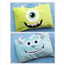 Monsters University Mike Wazowski Monsters Inc sulley sully pillowcase (only case)