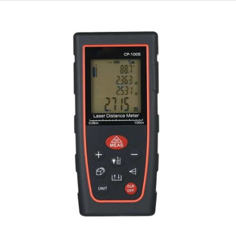 100M Portable LCD Digital Laser Distance Meter Area Volume Level Angle Measurement Tools 40M 60M 80M USB Tape Range Finder Guage 60m portable digital laser distance meter range finder area volume measurement with angle indication
